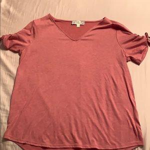 Pink Republic V-neck top